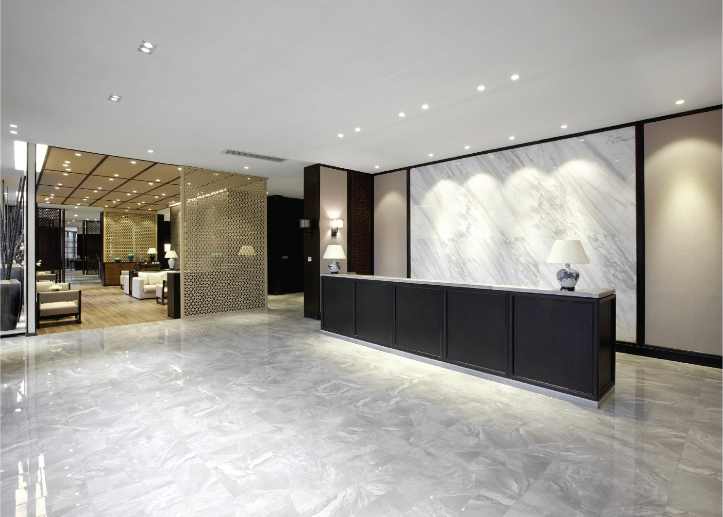 The lobby of a resident\u0027s building is the first thing a shareholder unit owner guest or prospective buyer notices when they come through the front door. & Redecorating Your Common Areas - A New Look for Your Lobby - The New ...