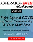 The Cooperator Events presents a virtual town hall sponsored by FirstService Residential Wednesday May 6 at 2:00 PM